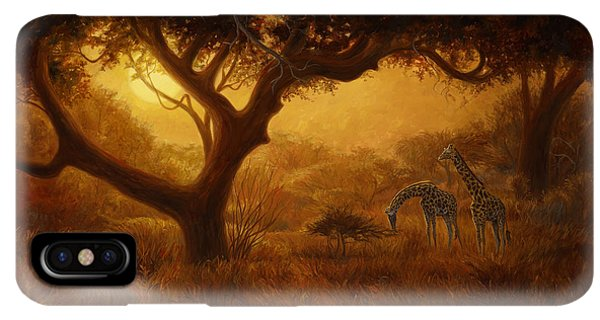 Africa iPhone XS Max Case - Dreamland by Lucie Bilodeau