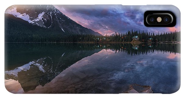 Rocky Mountain iPhone XS Max Case - Emerald Light. by Juan Pablo De