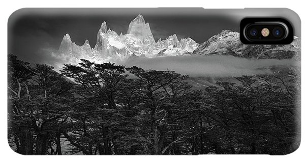 South America iPhone XS Max Case - Fitz Roy by Lucian Constantin