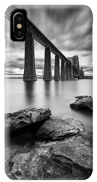 Scotland iPhone XS Max Case - Forth Bridge by Dave Bowman