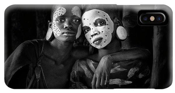Africa iPhone XS Max Case - Friends by Jose Beut