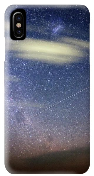 International Space Station iPhone XS Max Case - Iss In Southern Hemisphere Skies by Luis Argerich