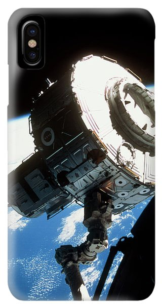 International Space Station iPhone XS Max Case - Iss Quest Airlock by Nasa/science Photo Library
