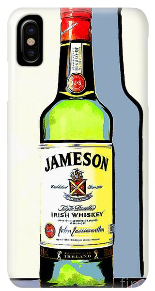 St. Patricks Day iPhone XS Max Case - Jameson Irish Whiskey 20140916poster by Wingsdomain Art and Photography