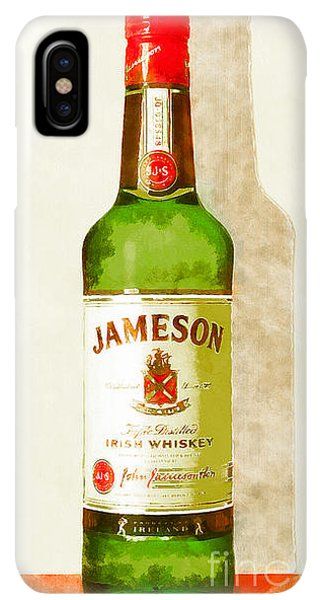 St. Patricks Day iPhone XS Max Case - Jameson Irish Whiskey 20140916wc by Wingsdomain Art and Photography