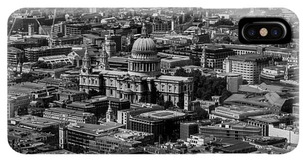 London City Centre Iphone Xs Max Cases Fine Art America