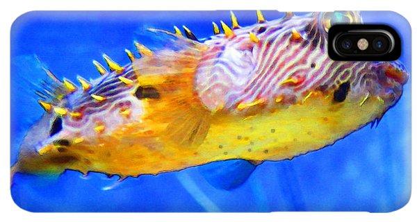 Scuba Diving iPhone XS Max Case - Magic Puffer - Fish Art By Sharon Cummings by Sharon Cummings