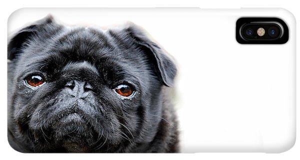 Pug iPhone XS Max Case - Martha Pug by Mark Rogan