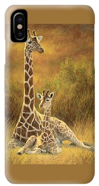 Africa iPhone XS Max Case - Mother And Son by Lucie Bilodeau