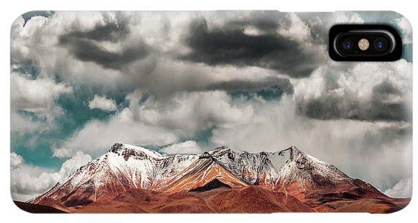 South America iPhone XS Max Case - Mountains In The Salvador Dali Desert - Bolivia by Hernan Calderon Velasco