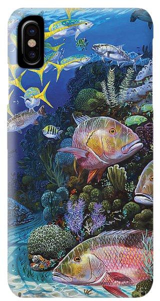 Scuba Diving iPhone XS Max Case - Mutton Reef Re002 by Carey Chen