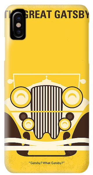 The iPhone XS Max Case - No206 My The Great Gatsby Minimal Movie Poster by Chungkong Art