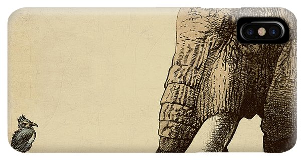 Africa iPhone XS Max Case - Old Friend by Eric Fan