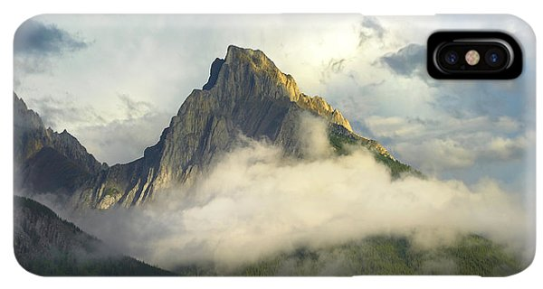 Rocky Mountain iPhone XS Max Case - Opal Range In Fog Kananaskis Country by Tim Fitzharris