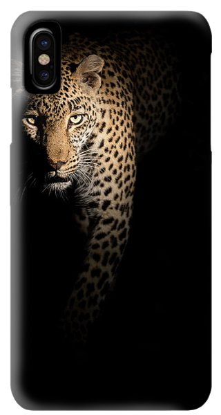 Africa iPhone XS Max Case - Out Of The Darkness by Richard Guijt