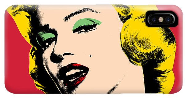 Abstract iPhone XS Max Case - Pop Art by Mark Ashkenazi