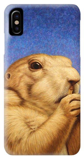 iPhone XS Max Case - Prairie Dog by James W Johnson