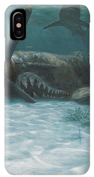Scuba Diving iPhone XS Max Case - Sand Shark by Randall Scott