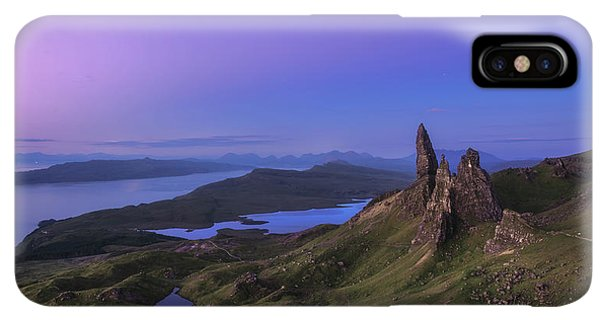 Scotland iPhone XS Max Case - Scotland - Storr At Night by Jean Claude Castor