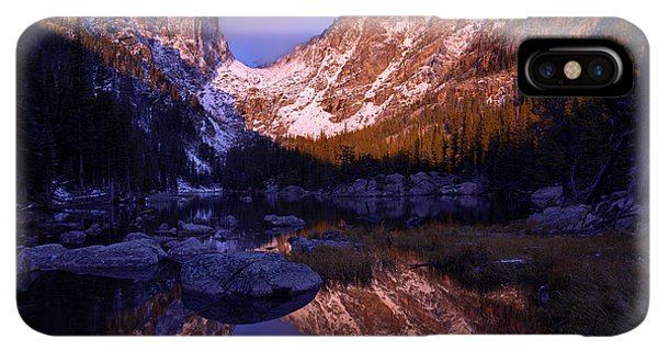 Rocky Mountain iPhone XS Max Case - Second Light by Chad Dutson
