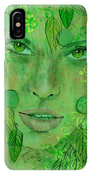 St. Patricks Day iPhone XS Max Case - St. Patrick's Girl by PJ Lewis