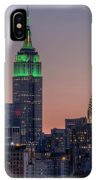 St. Patricks Day iPhone XS Max Case - St Patrick's Day Postcard by Eduard Moldoveanu