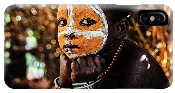 Africa iPhone XS Max Case - Suri Boy by Vedran Vidak