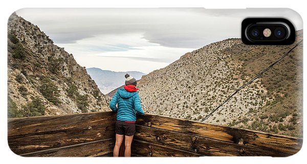 Knit Hat iPhone XS Max Case - Surprise Canyon, Death Valley, Ca, Usa by David Hanson
