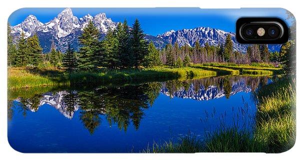 Rocky Mountain iPhone XS Max Case - Teton Reflection by Chad Dutson
