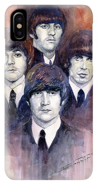 The iPhone XS Max Case - The Beatles 02 by Yuriy Shevchuk
