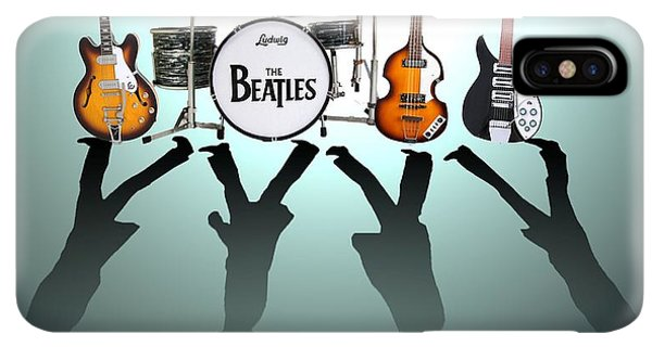 The iPhone XS Max Case - The Beatles by Yelena Day