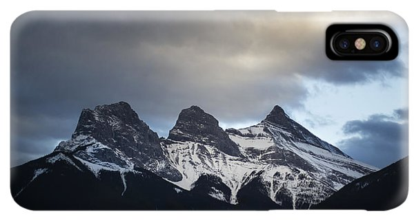 Rocky Mountain iPhone XS Max Case - Three Sisters - Special Request by Evelina Kremsdorf