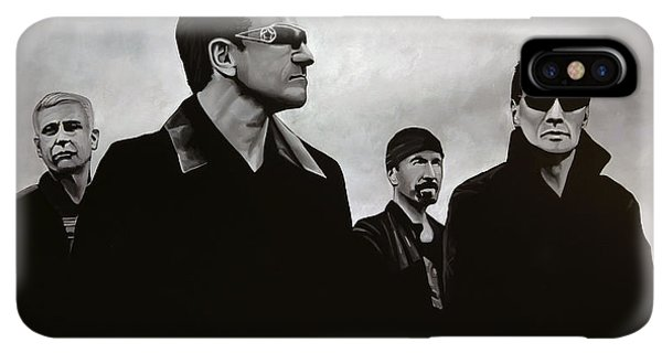 The iPhone XS Max Case - U2 by Paul Meijering