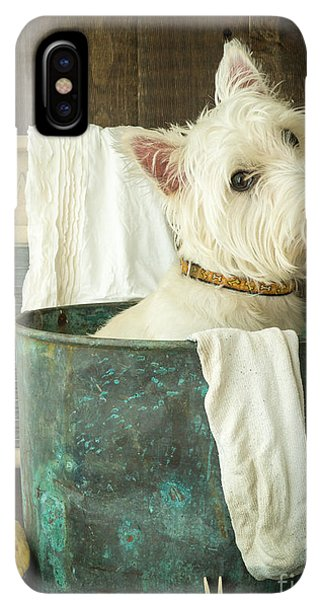 Puppies iPhone XS Max Case - Wash Day by Edward Fielding