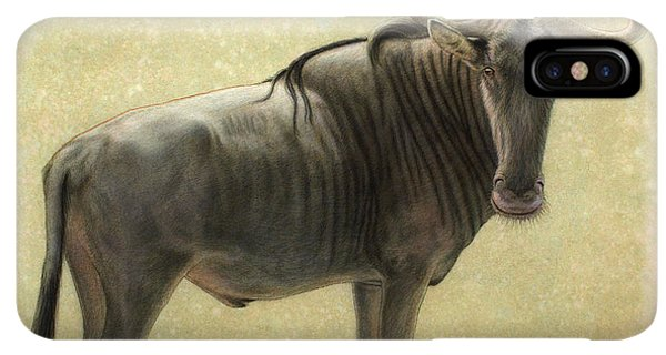Africa iPhone XS Max Case - Wildebeest by James W Johnson