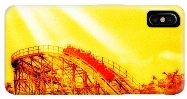 iPhone XS Max Case - #amazing Shot Of A #rollercoaster At by Pete Michaud