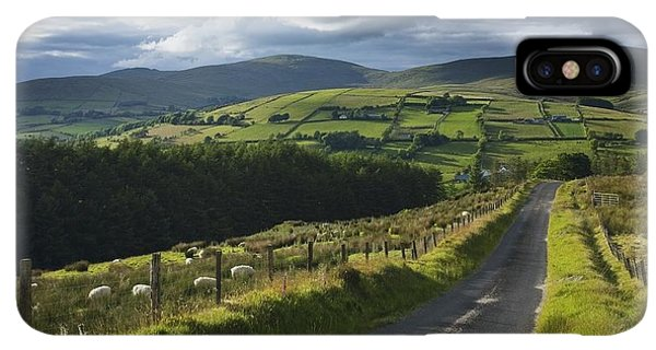 St. Patricks Day iPhone XS Max Case - Road Through Glenelly Valley, County by Gareth McCormack