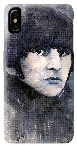 The iPhone XS Max Case - The Beatles Ringo Starr by Yuriy Shevchuk