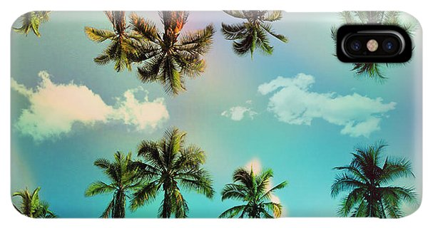 Abstract iPhone XS Max Case - Florida by Mark Ashkenazi