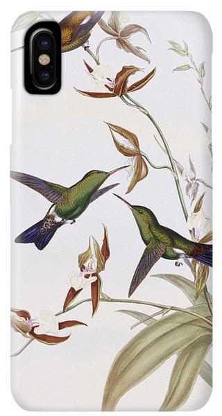 Humming Bird iPhone XS Max Case - Hummingbirds by John Gould