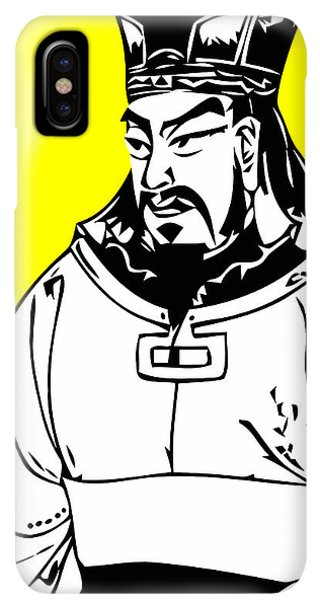 The Sun iPhone XS Max Case - Sun Tzu by War Is Hell Store
