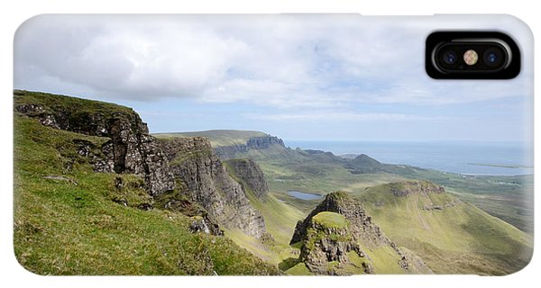 Scotland iPhone XS Max Case - The Quiraing by Smart Aviation