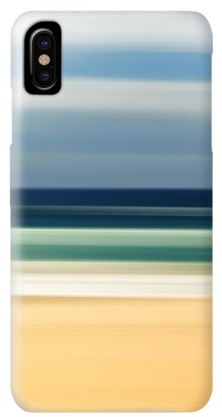 Abstract iPhone XS Max Case - Beach Pastels by Az Jackson