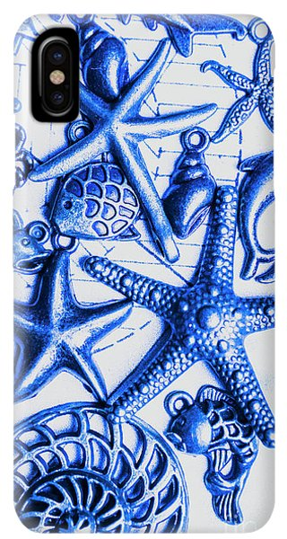 Scuba Diving iPhone XS Max Case - Blue Reef Abstract by Jorgo Photography - Wall Art Gallery
