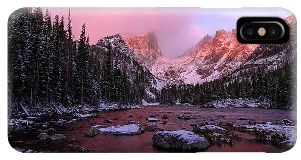 Rocky Mountain iPhone XS Max Case - Chill by Chad Dutson
