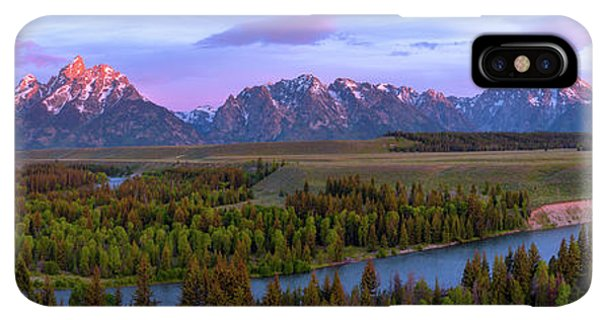 Rocky Mountain iPhone XS Max Case - Grand Tetons by Chad Dutson