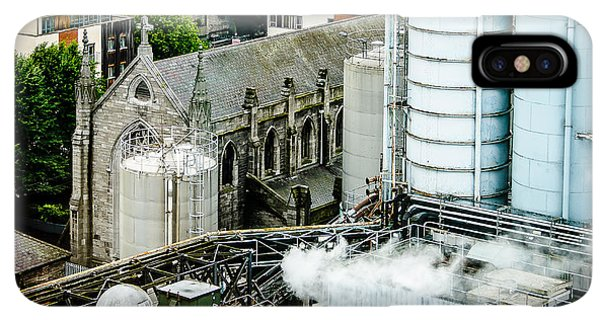St. Patricks Day iPhone XS Max Case - Guinness Brewery And St James Church In Dublin by RicardMN Photography