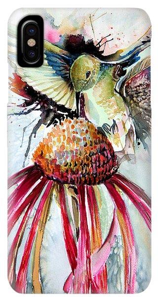 Humming Bird iPhone XS Max Case - Humming Bird by Mindy Newman