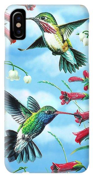 Humming Bird iPhone XS Max Case - Humming Birds by JQ Licensing