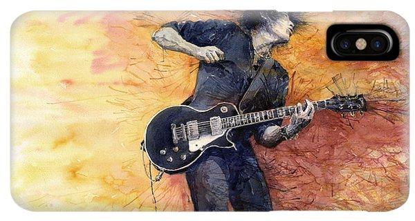 iPhone XS Max Case - Jazz Rock Guitarist Stone Temple Pilots by Yuriy Shevchuk